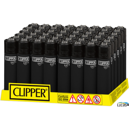 Clipper Soft Touch Black