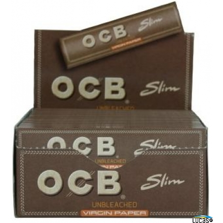OCB Unbleached Virgin Slim